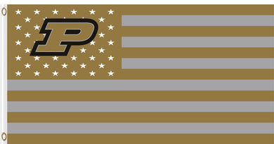 Purdue Boilermakers Star and Stripes Football Banner Flag 3*5ft
