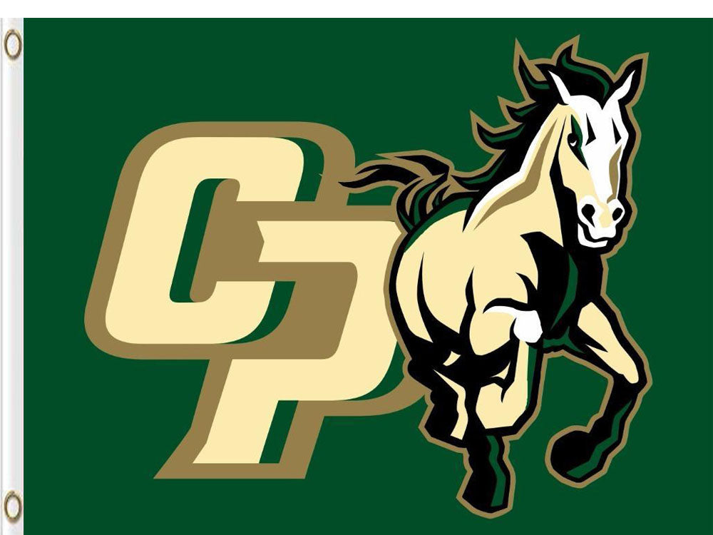 Cal Poly Mustangs Hand Flag 3*5ft