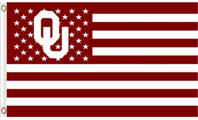 Oklahoma Sooners Star Nation Banner Flags 3*5ft