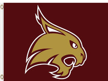 Load image into Gallery viewer, Texas State Bobcats sports team Flag 3*5ft