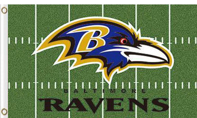 Baltimore Ravens Green flag 3x5ft