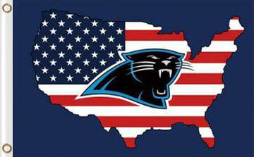 Carolina Panthers Flag 3ftx5ft