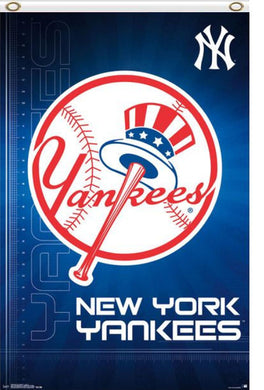 New York Yankees Baseball Banner Flag 3ft x 5ft