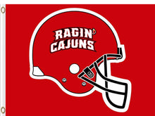 Load image into Gallery viewer, Louisiana Lafayette Ragin' Cajuns Hand Flag 3*5ft