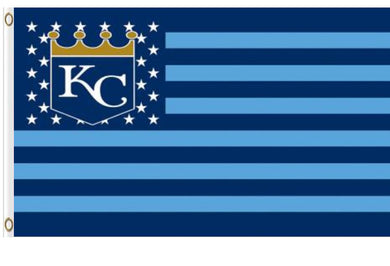 Kansas City Royals USA American Banner flags 3ftx5ft