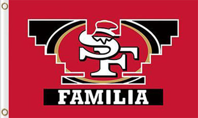 San Francisco 49ers Familia Flag 3ftx5ft