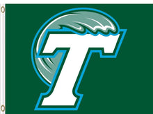 Load image into Gallery viewer, Tulane Green Wave flag 3x5FT