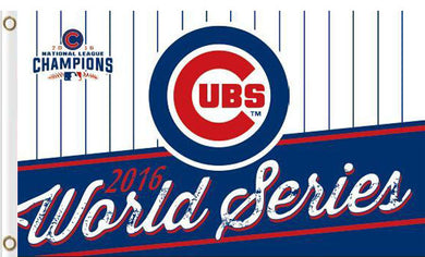 Chicago Cubs World Series Champions Flag 3ft x 5ft