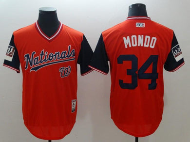 Men Stitched Jersey Mondo For Fans