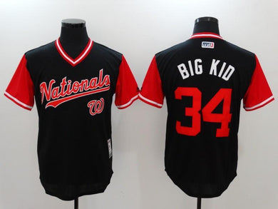 Men Stitched Jersey Big Kid For Fans
