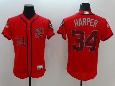 Men Stitched Jersey Bryce Harper For Fans