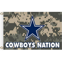 Load image into Gallery viewer, Dallas Cowboys Flags 3x5ft Polyester Digital Print