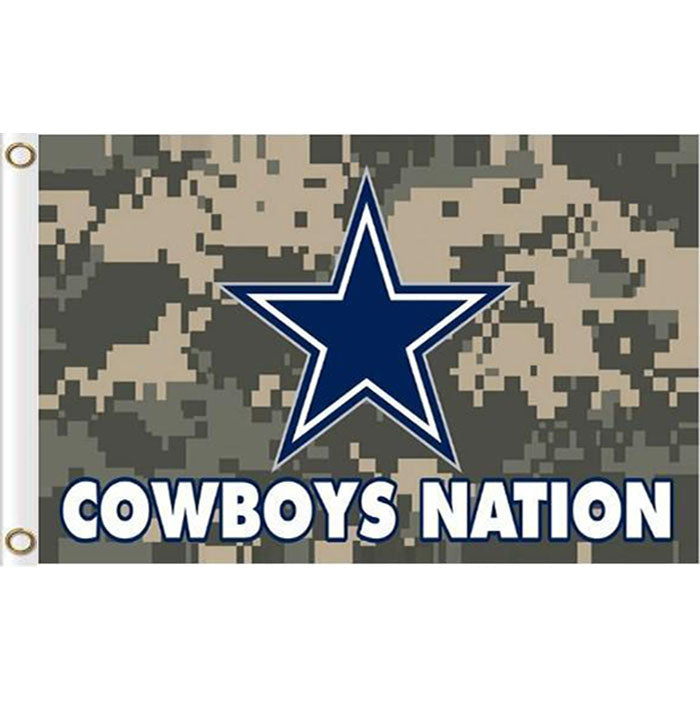 Dallas Cowboys Flags 3x5ft Polyester Digital Print