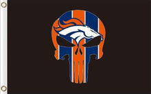 Load image into Gallery viewer, Denver Broncos team Digital Printing Flag 3ftx5ft
