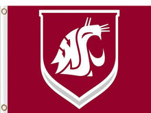 Load image into Gallery viewer, Washington State Cougars flag 3x5FT
