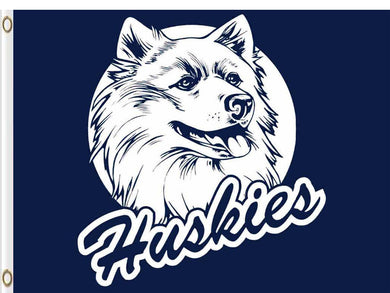 Connecticut Huskies Hand Flag 3*5ft