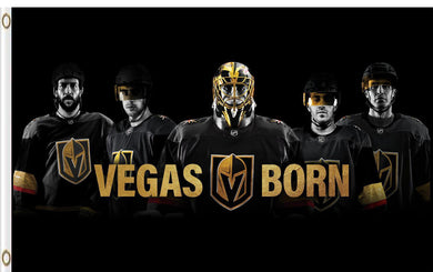Vegas Golden Knights Players Poster Flag 3ftx5ft