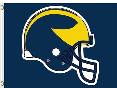 Michigan Wolverines Logo Hand Flag 90*150 CM