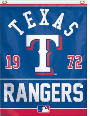 Texas Rangers 1972 Team Banner Flag 3x5ft