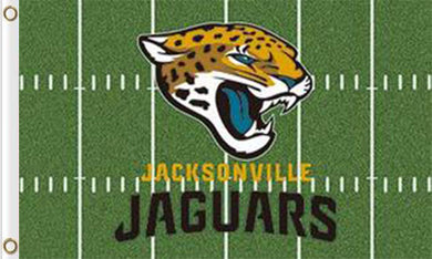 Jacksonville Jaguars Green Flags 3ftx5ft