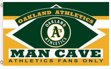 Oakland Athletics Man Cave Banner flag 3ftx5ft