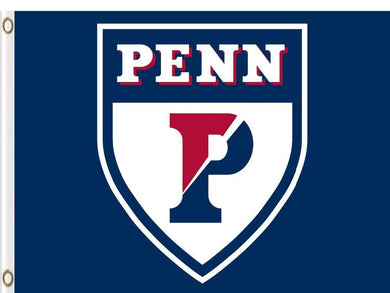 Penn Quakers Digital Printing flag 3*5ft