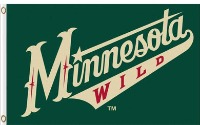 Minnesota Wild flag 100D Polyester 3x5 ft