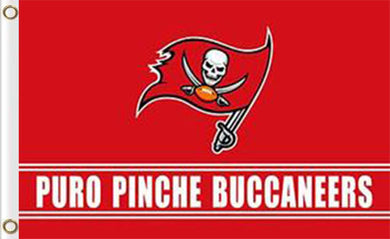 Tampa Bay Buccaneers Puro Pinche Flags 3ftx5ft