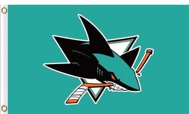 San Jose Sharks flags 90x150cm