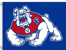 Load image into Gallery viewer, Fresno State Bulldogs Flag 3ft*5ft Basketball Club
