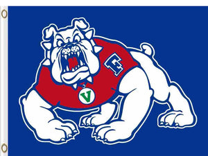 Fresno State Bulldogs Flag 3ft*5ft Basketball Club