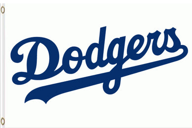Los Angeles Dodgers USA White Banner flag 3ftx5ft