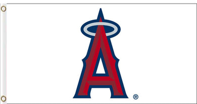 Los Angeles Angels White Flag 3x5ft