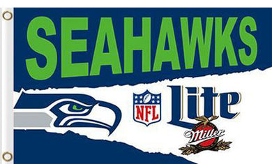 Seattle Seahawks 3x5FT Lite Flags