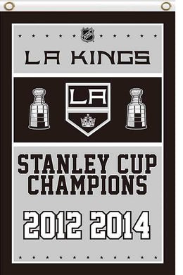 Los Angeles Kings champions flag 90x150cm