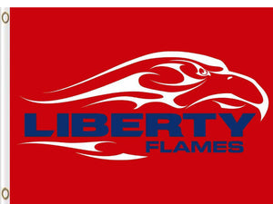 Liberty Flames Hand Flag 3*5ft Club Basketball