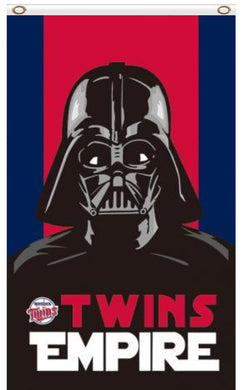 Minnesota Twins Star Wars Darth Vader Banner flag 3ftx5ft
