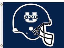 Load image into Gallery viewer, Utah State Aggies sports team flag 3*5ft