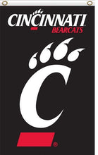 Load image into Gallery viewer, Cincinnati Bearcats Sport Banner Flag 3*5ft