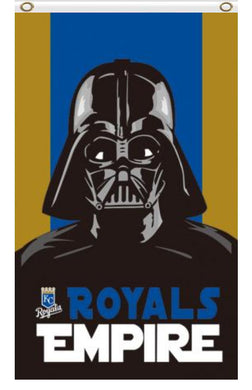 Kansas City Royals Star Wars Banner flags 3ftx5ft