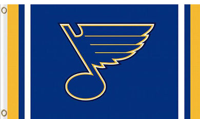 St. Louis Blues custom flag 3ftx5ft