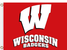 Load image into Gallery viewer, Wisconsin Badgers 90*150 CM Digital Printing