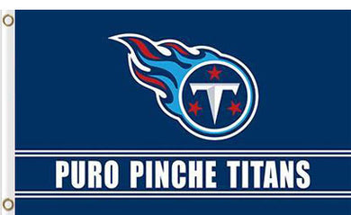 Tennessee Titans  Banners Puro Pinche Flags 3ftx5ft