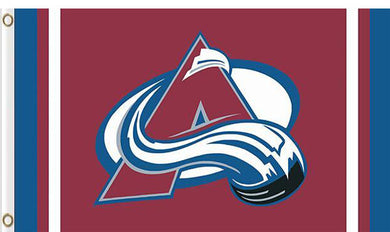 Colorado Avalanche custom flag 3ftx5ft