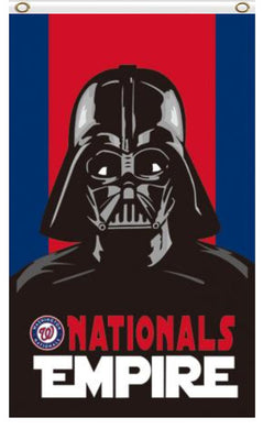 Washington Nationals Star Wars Darth Vader Banner flag 3ftx5ft