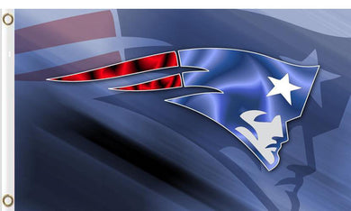 New England Patriots Sports Flags 3ftx5ft