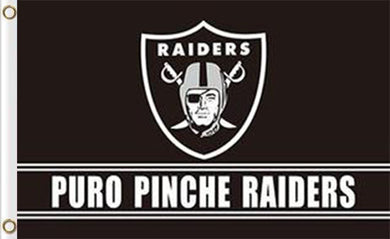 Oakland Raiders Puro Pinche Flag 3ft x 5ft