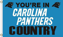 Load image into Gallery viewer, Carolina Panthers Team Banners Flag 3ftx5ft