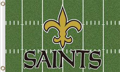 New Orleans Saints Green Flags 3*5FT