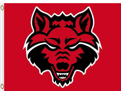 Arkansas State Red Wolves Hand Flag 3*5ft Club